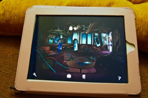 «Broken Sword: The Shadow of the Templars» en el iPad2